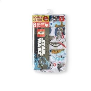 New Boys Star Wars 8 pack Briefs